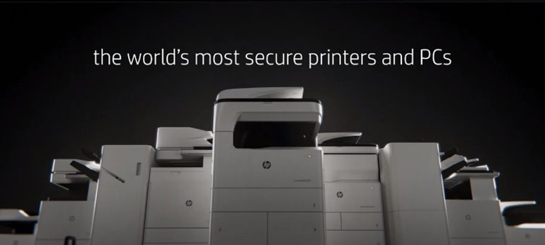 HP líder en seguridad de impresión